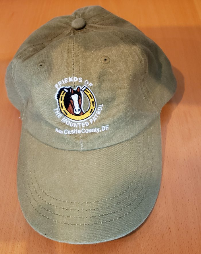 FMP taupe hat with traditional logo